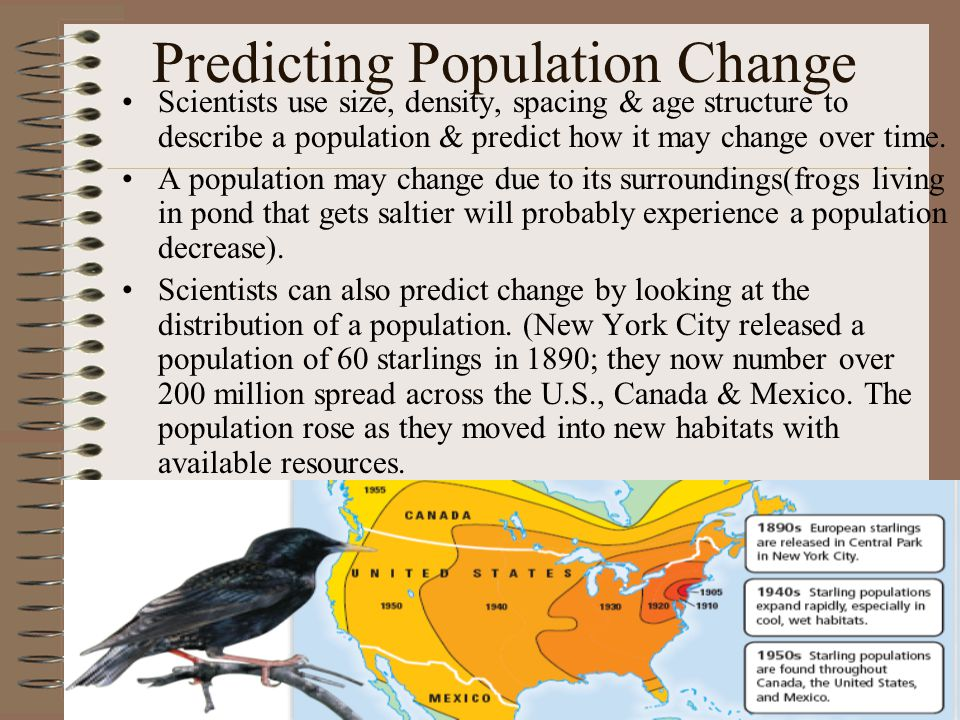 Predicting Population Change