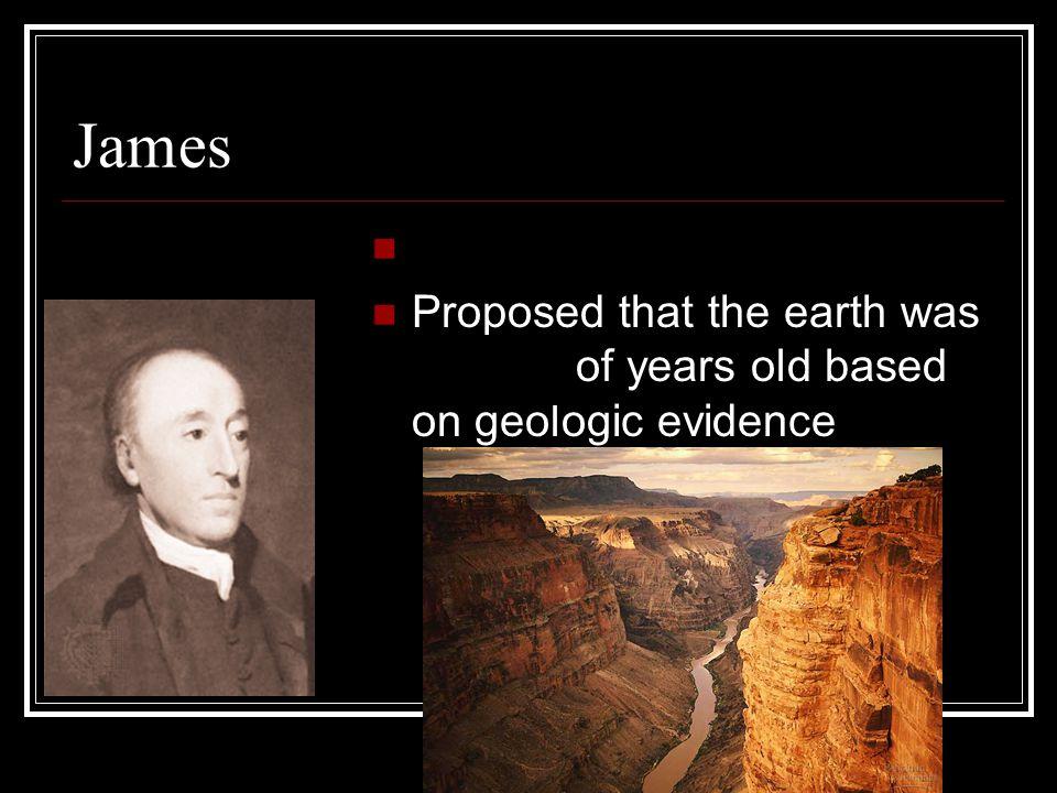 James Hutton Geologist