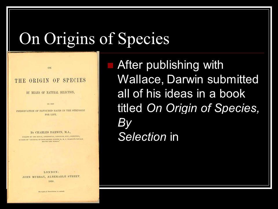 On Origins of Species