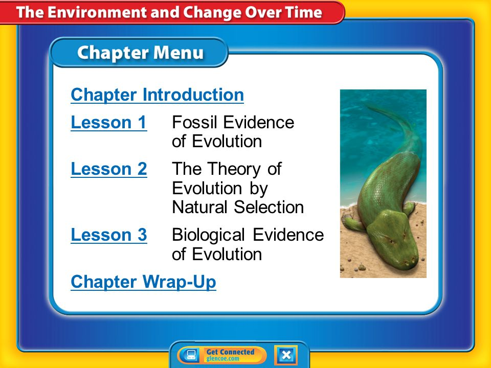 Lesson 1 Fossil Evidence of Evolution