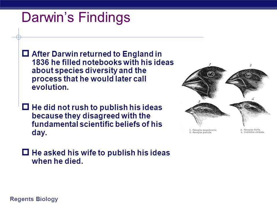 Darwin's Findings