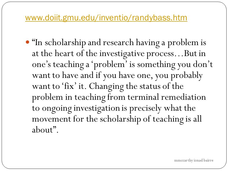 www.doiit.gmu.edu/inventio/randybass.htm