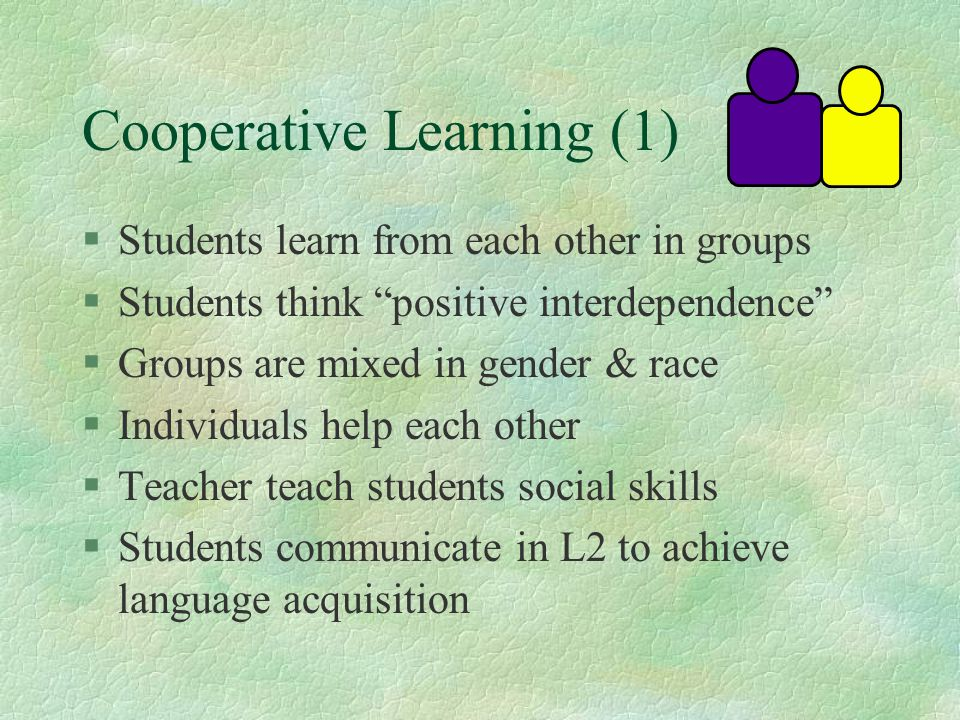 Cooperative Learning (1)
