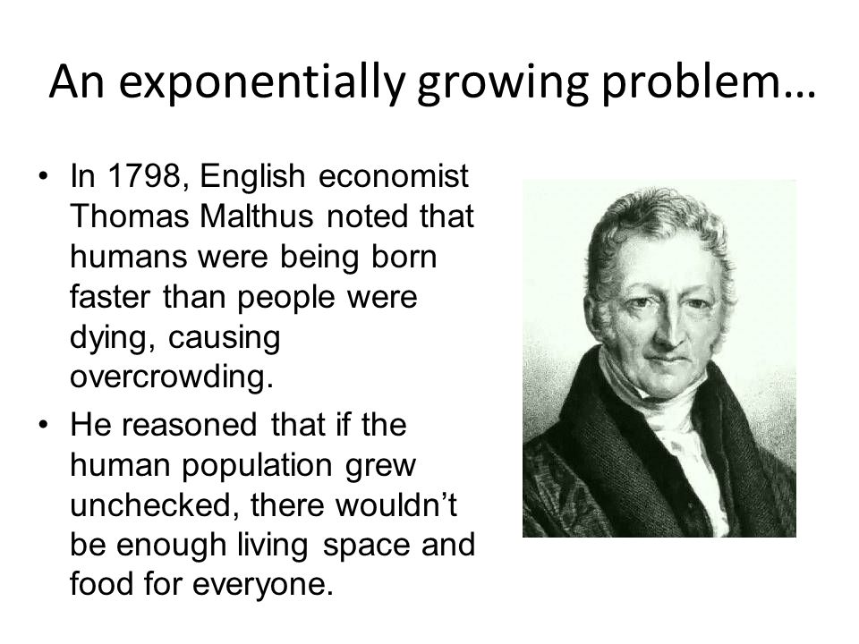 An exponentially growing problem…
