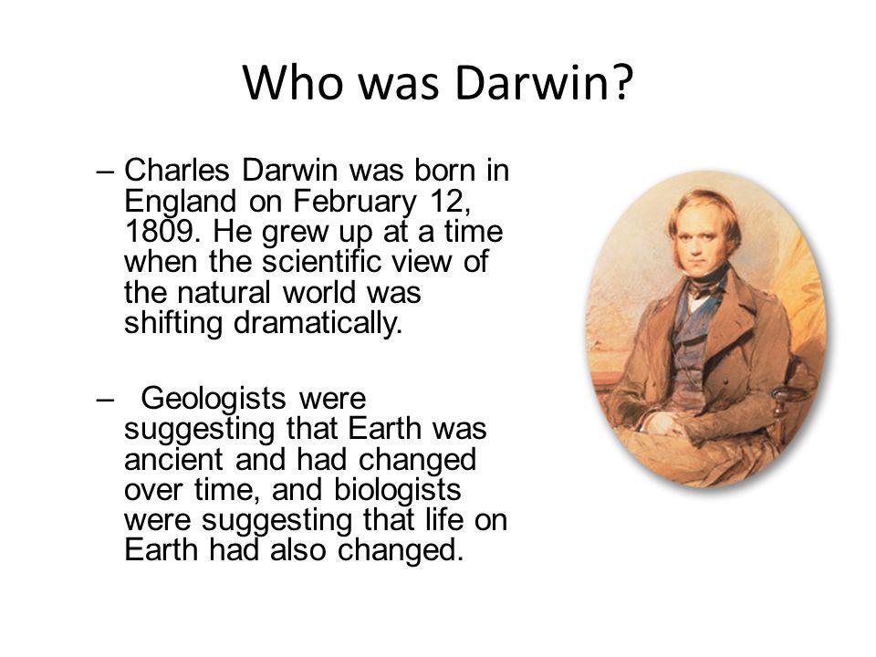 Who was Darwin