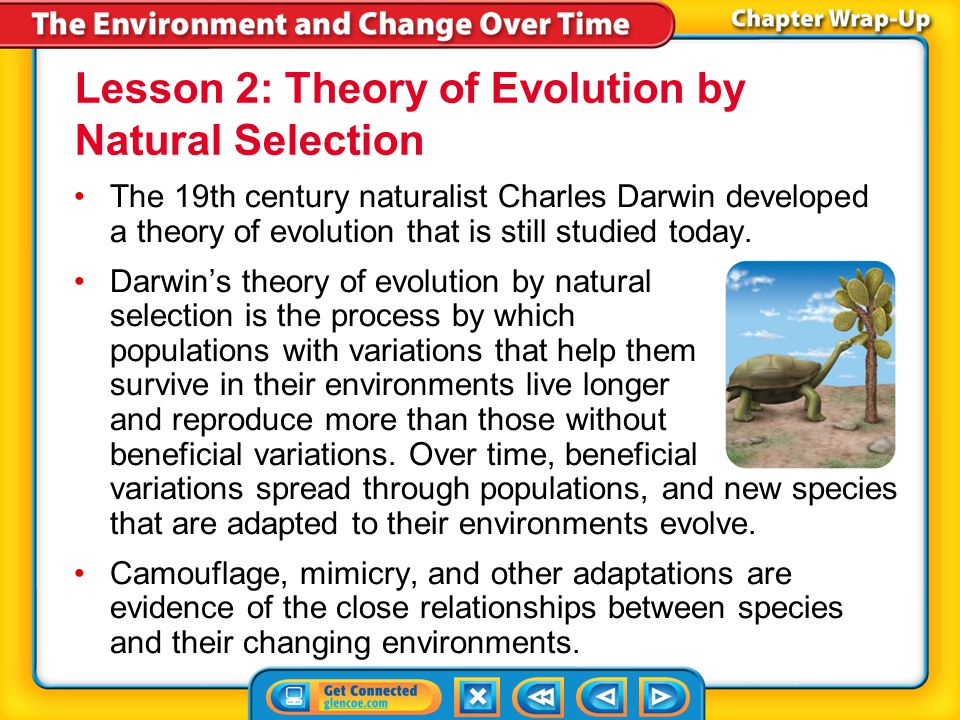Lesson 2: Theory of Evolution by Natural Selection