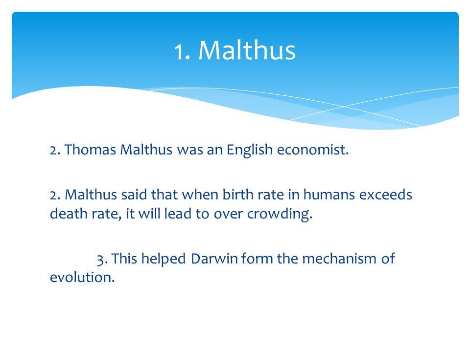 1. Malthus