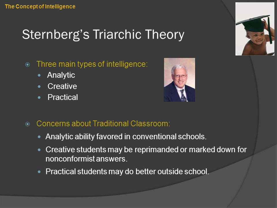 Sternberg's Triarchic Theory