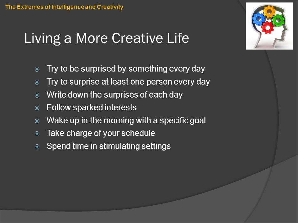 Living a More Creative Life