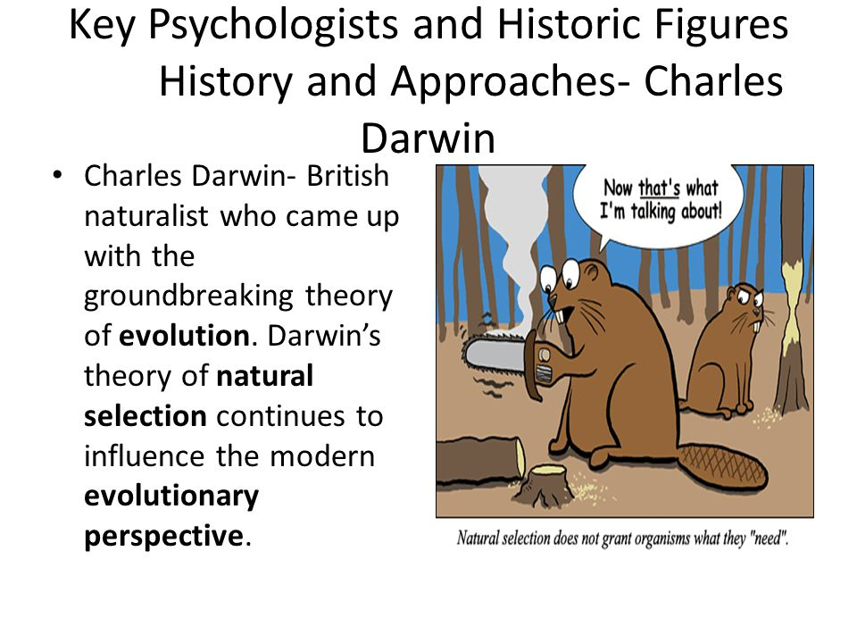 Key Psychologists and Historic Figures