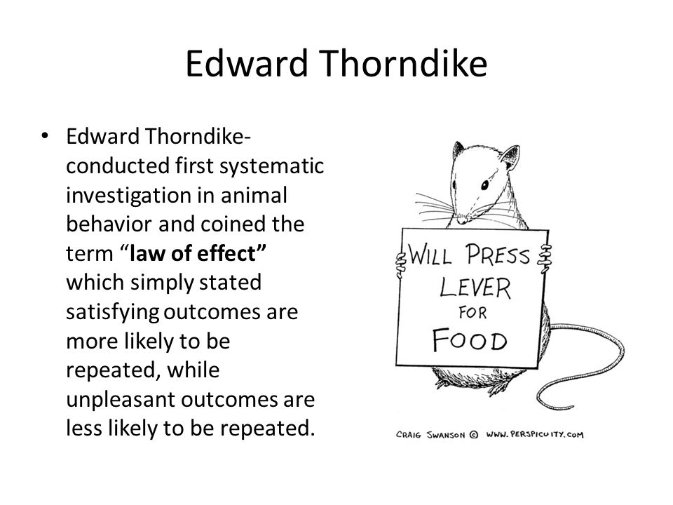 Edward Thorndike