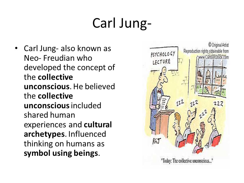 "carl jung ""the collective unconscious essay Carl jung is best known for his exploration of the unconscious mind, developed through his education in freudian theory, mythology, religion, and philosophy."