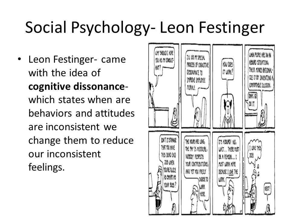 Social Psychology- Leon Festinger