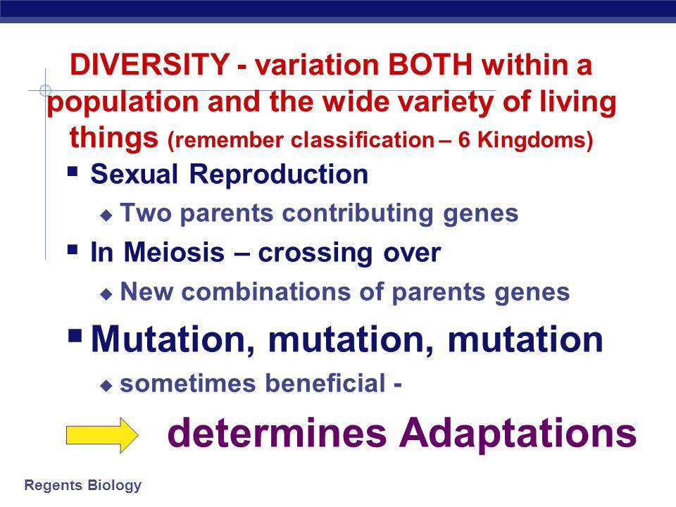 determines Adaptations