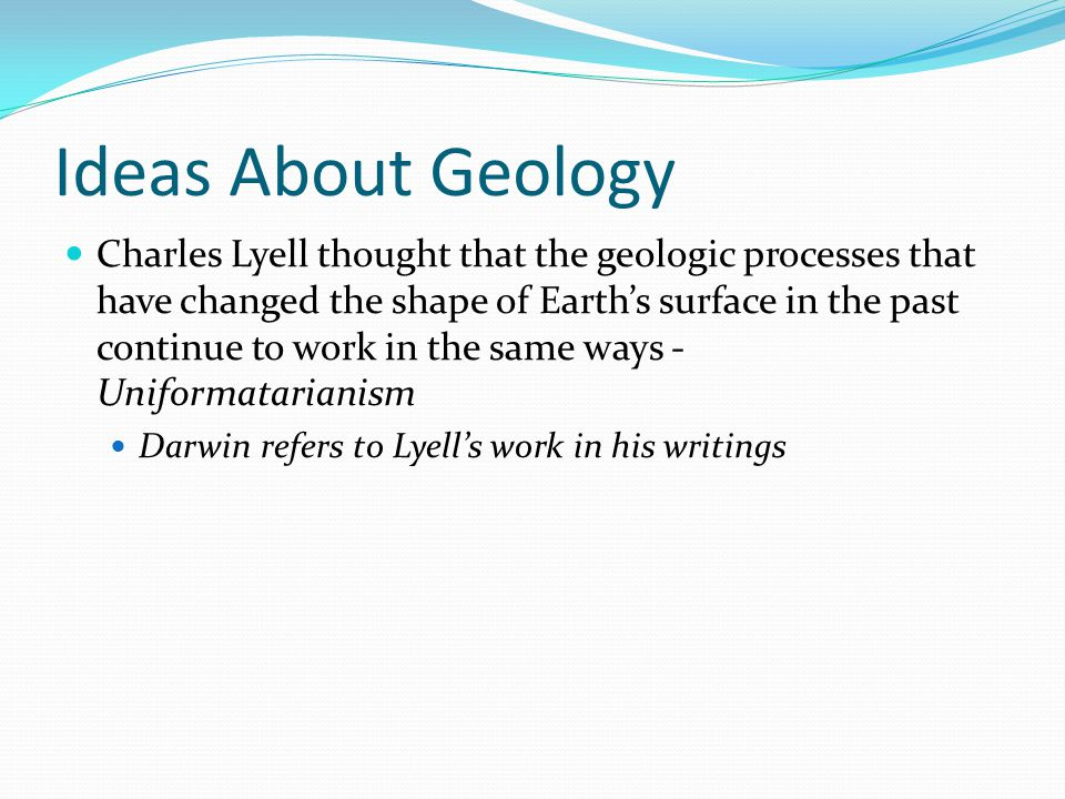 Ideas About Geology