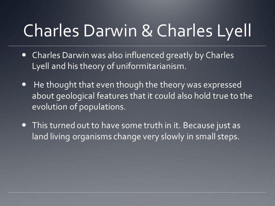 Charles Darwin & Charles Lyell