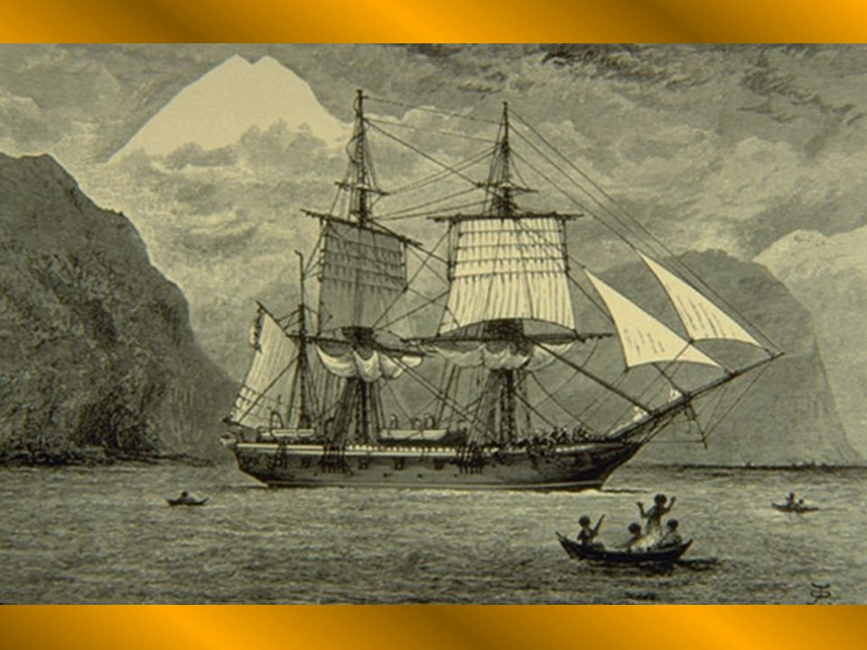 Naturalist for the naval voyage of The HMS Beagle.