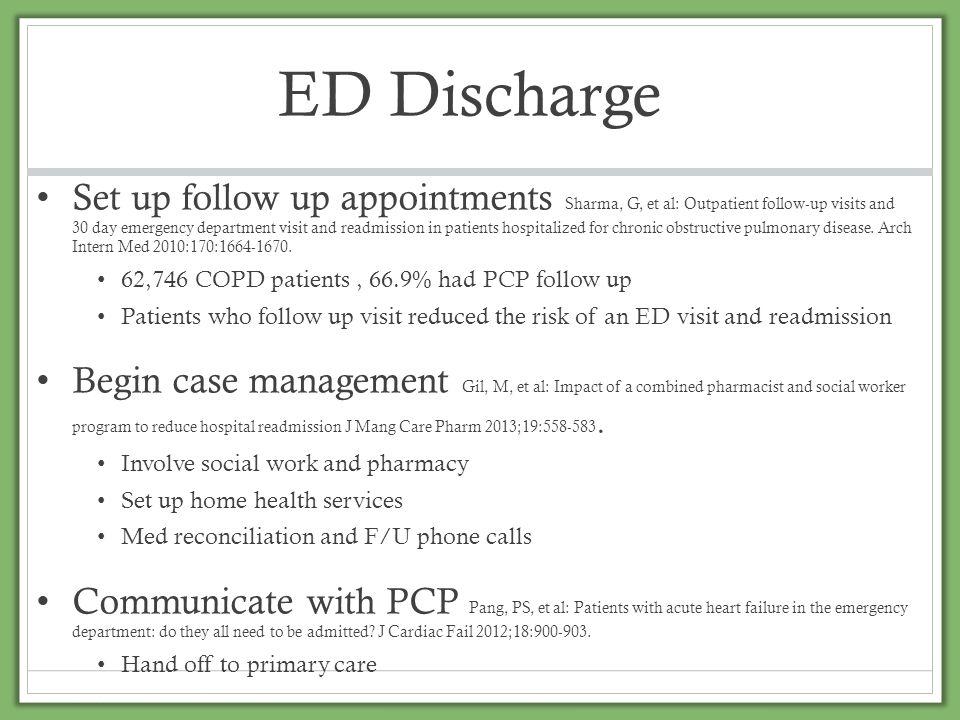 ED Discharge