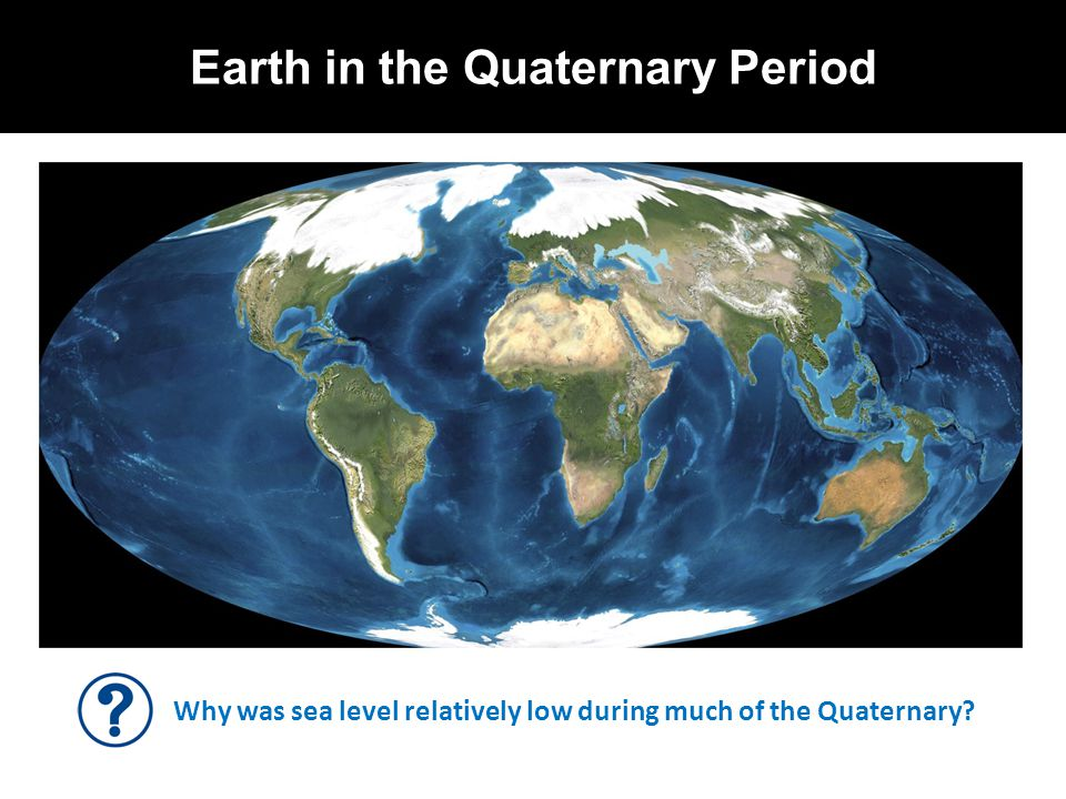 Earth in the Quaternary Period