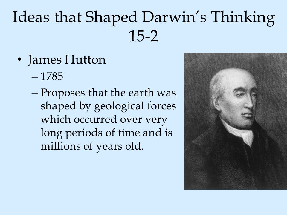 Ideas that Shaped Darwin's Thinking 15-2