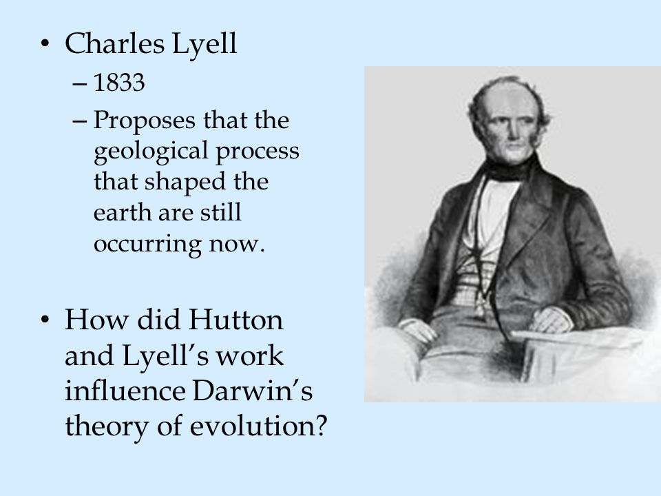 the early works and influences of charles darwin The work of charles darwin (1809-1882) has influenced a number of scientific endeavors, including psychology during a scientific voyage on the hms beagle from 1831 to 1836, darwin made some keen observations about the similarities and differences in the plant and animal life encountered in various regions of the world.