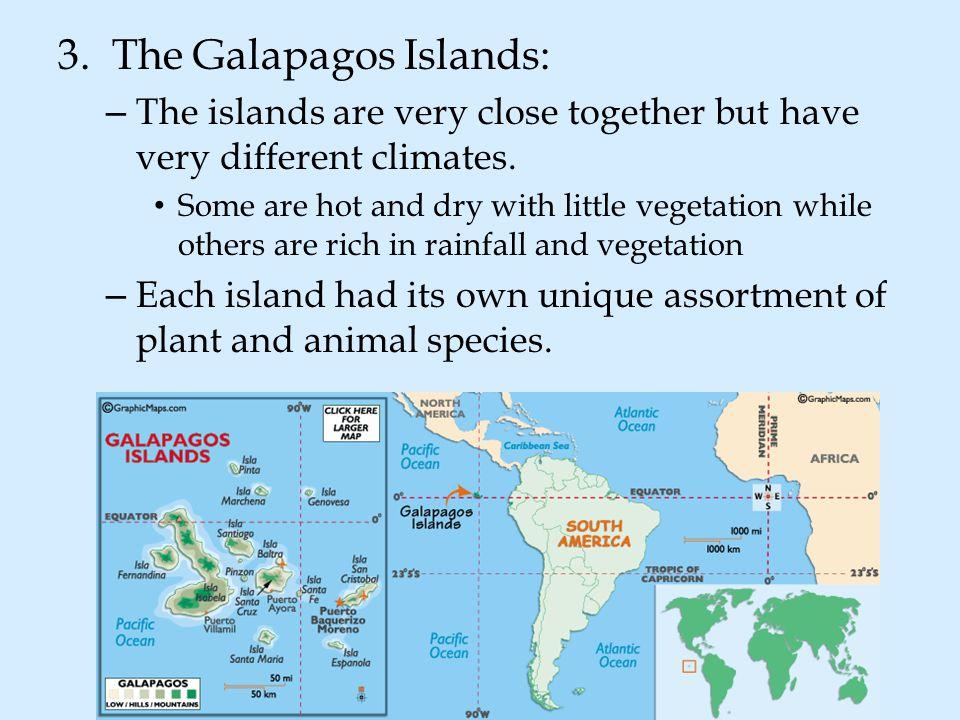 3. The Galapagos Islands: