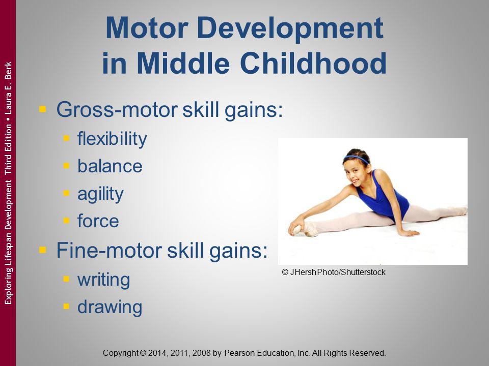 Motor Development in Middle Childhood