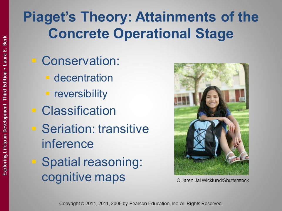 Piaget's Theory: Attainments of the Concrete Operational Stage