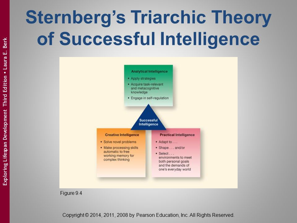 Sternberg's Triarchic Theory of Successful Intelligence