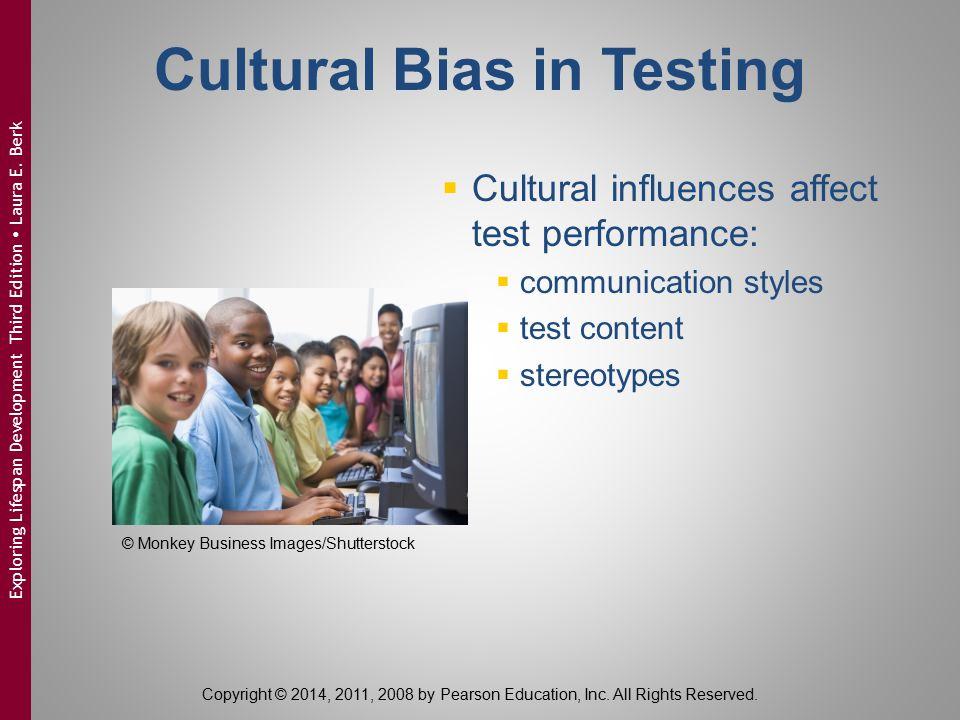 Cultural Bias in Testing