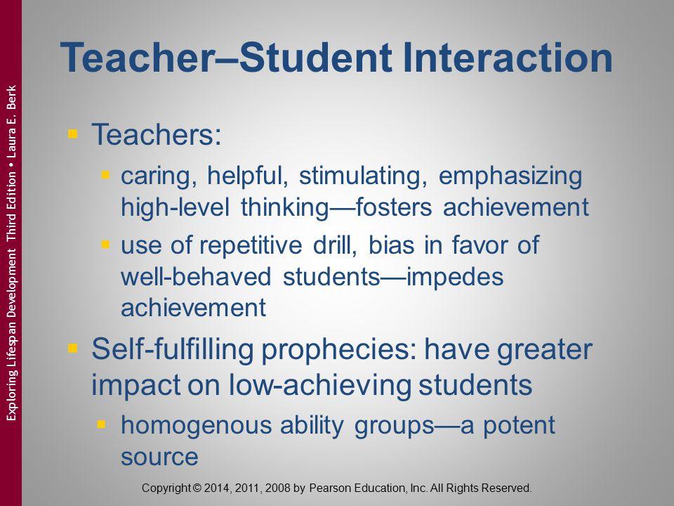 Teacher–Student Interaction
