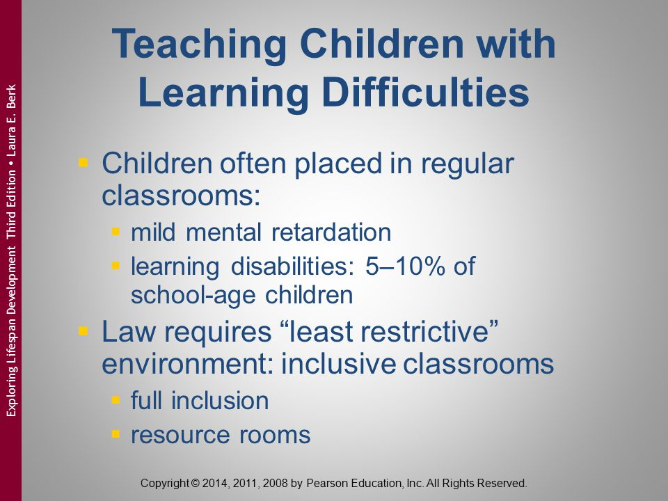 Teaching Children with Learning Difficulties