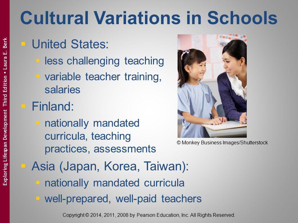 Cultural Variations in Schools