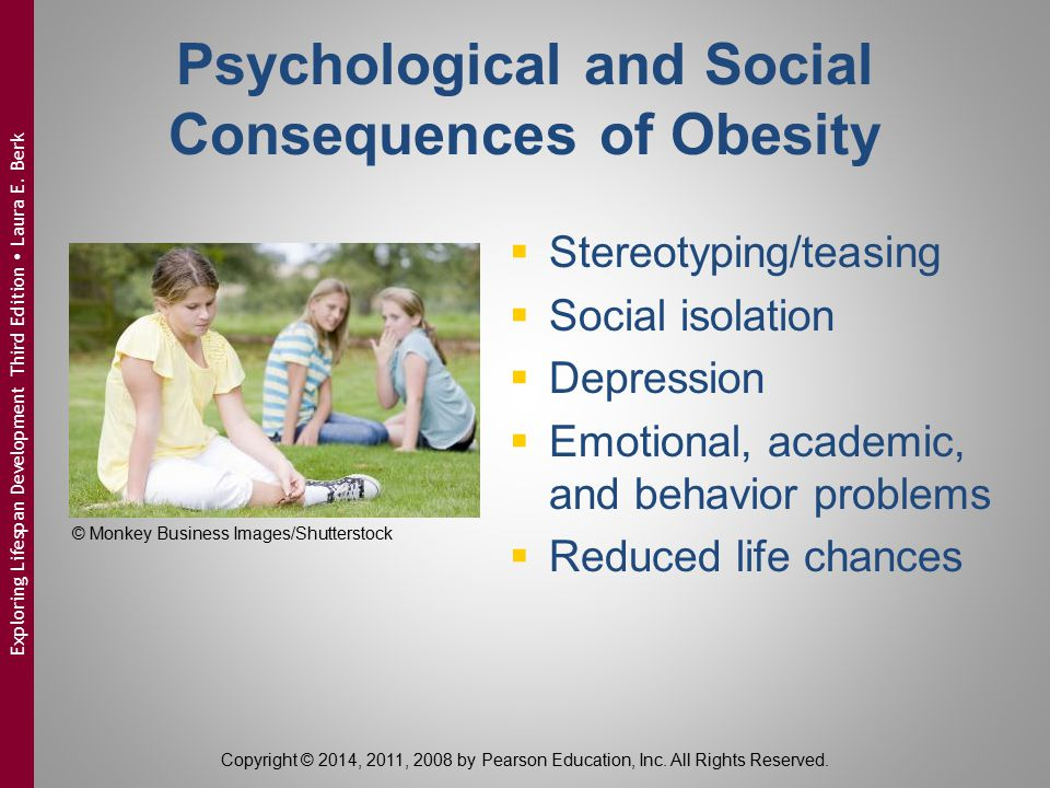 Psychological and Social Consequences of Obesity