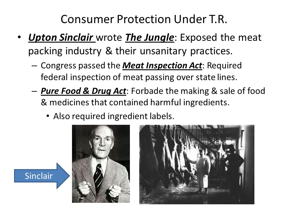 Consumer Protection Under T.R.