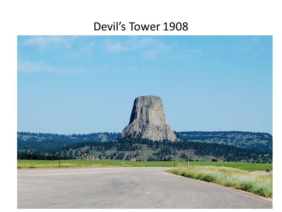 Devil's Tower 1908