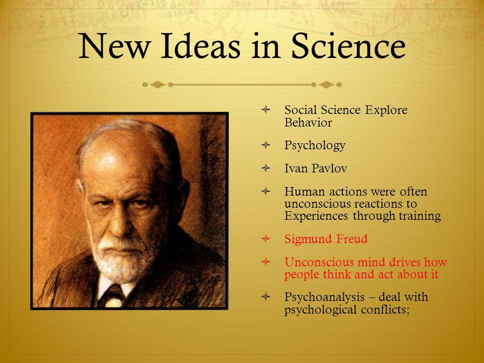 New Ideas in Science Social Science Explore Behavior Psychology