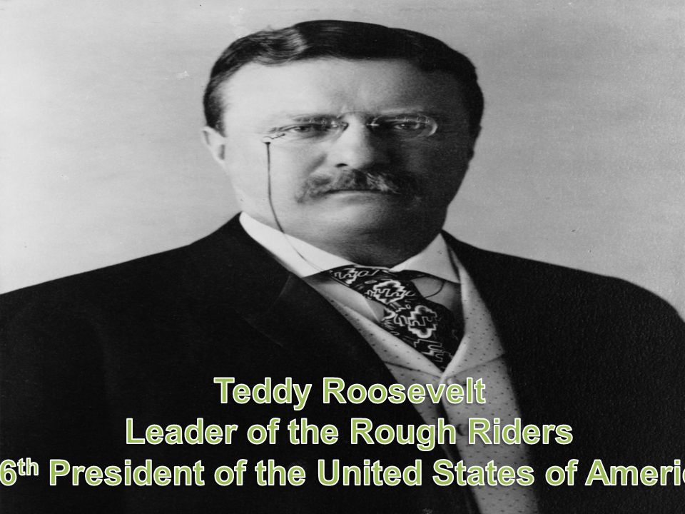 Leader of the Rough Riders