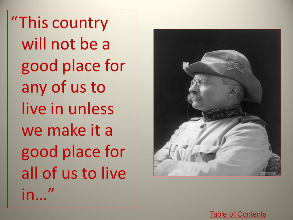 This country will not be a good place for any of us to live in unless we make it a good place for all of us to live in…