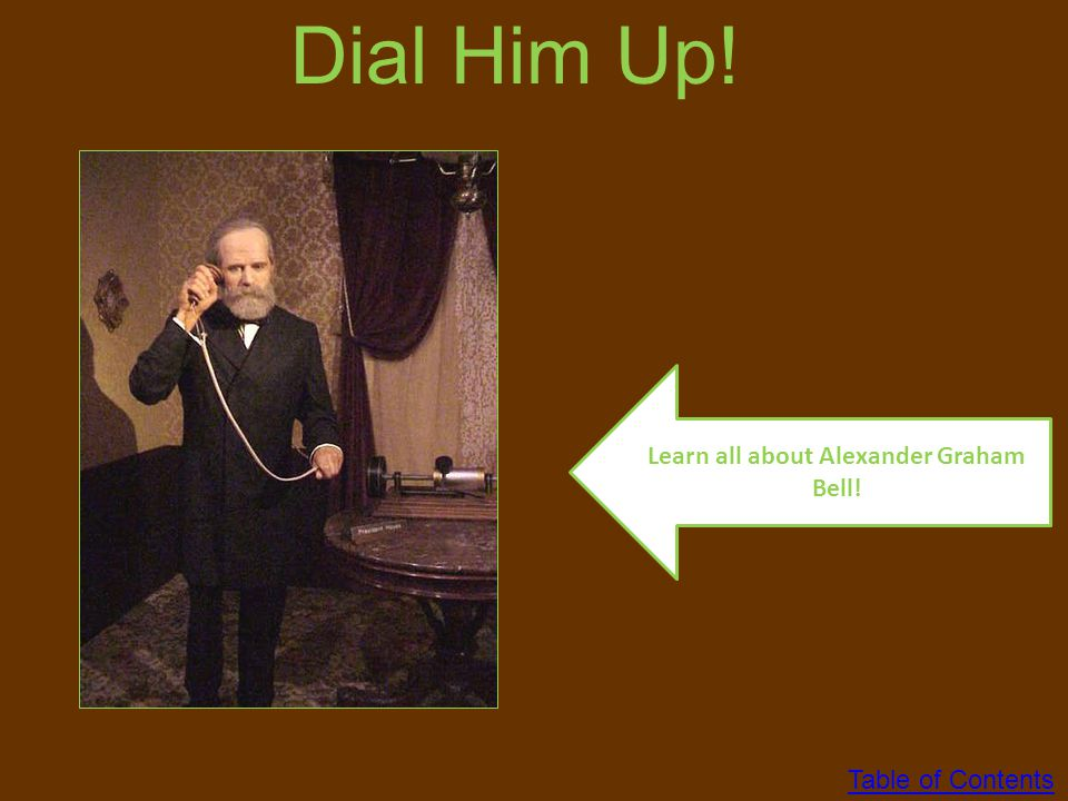 Learn all about Alexander Graham Bell!