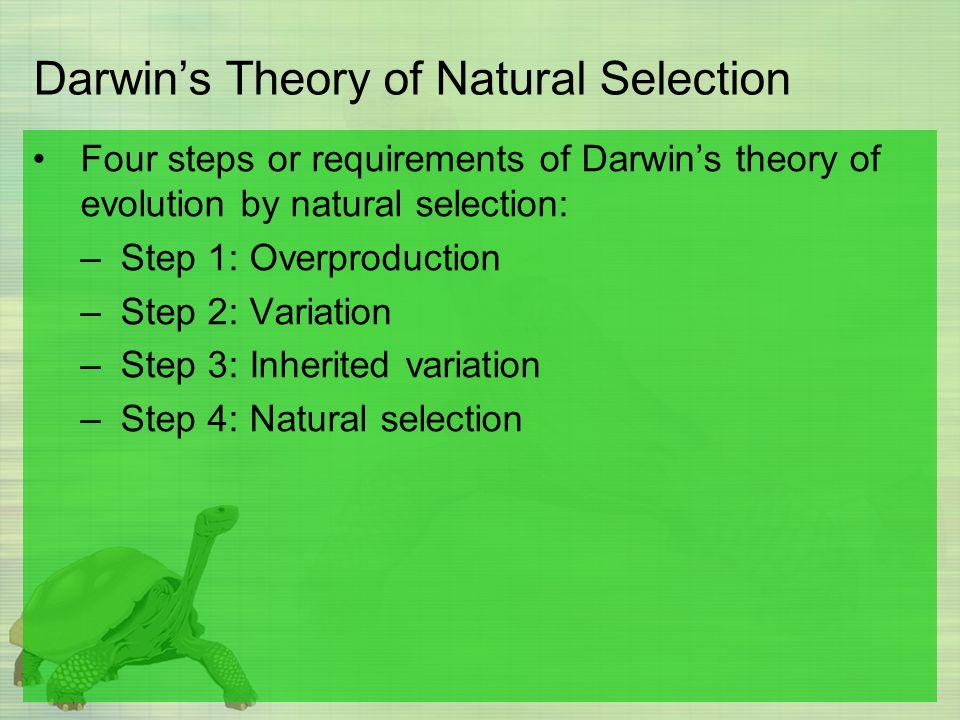 Traits Of Natural Selection