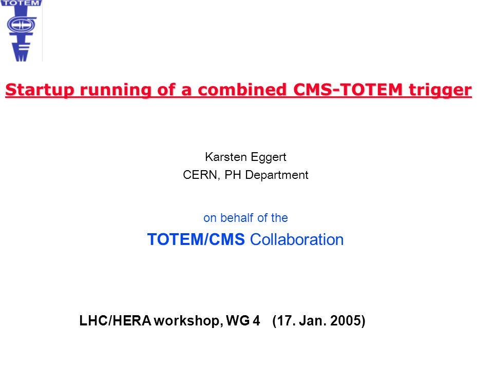 LHC/HERA workshop, WG 4 (17. Jan. 2005)
