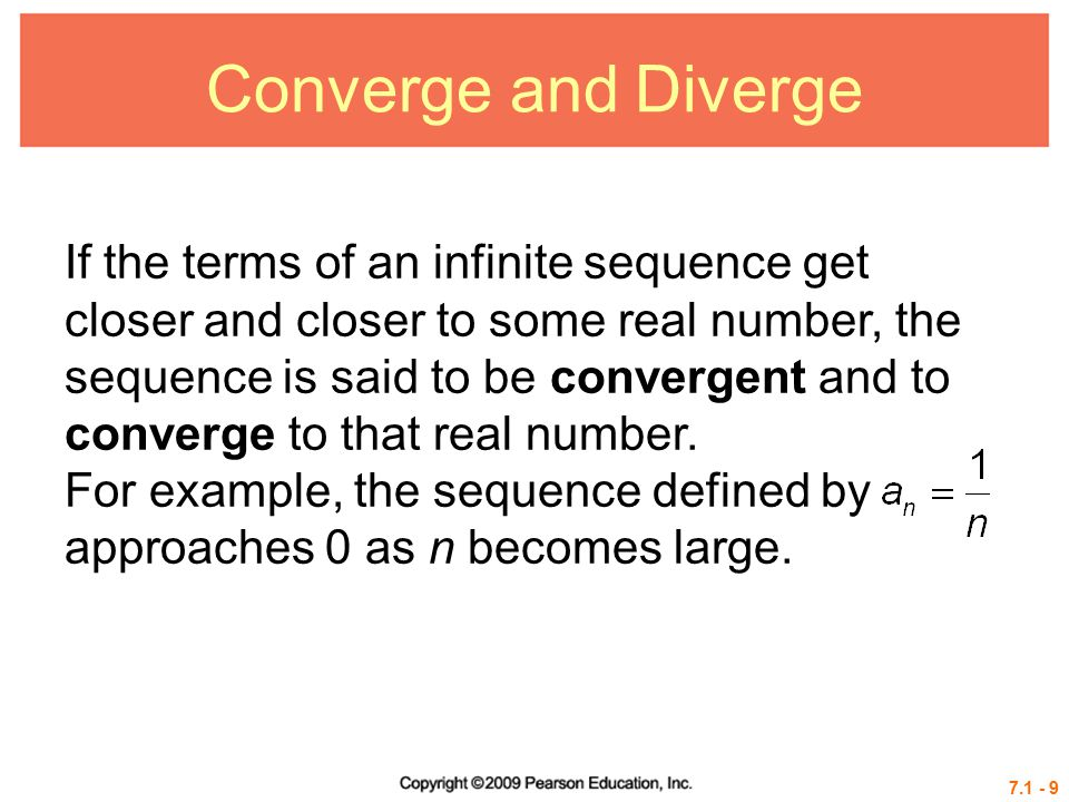 Converge and Diverge