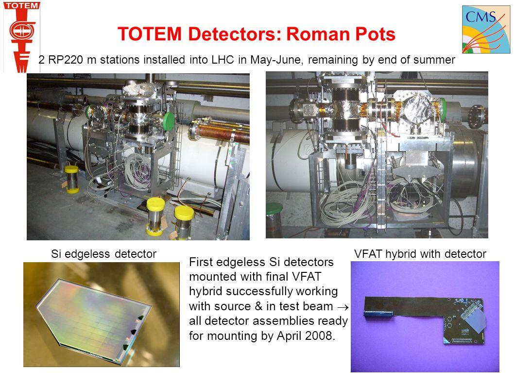 TOTEM Detectors: Roman Pots