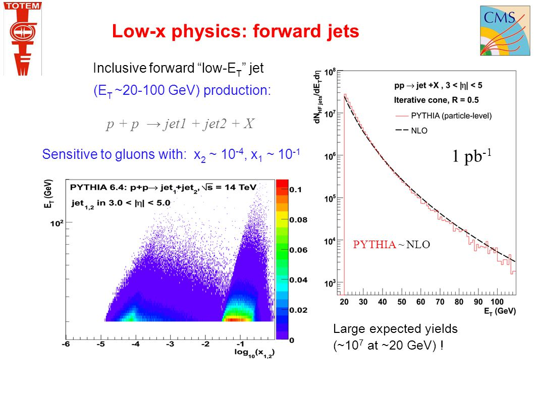 Low-x physics: forward jets