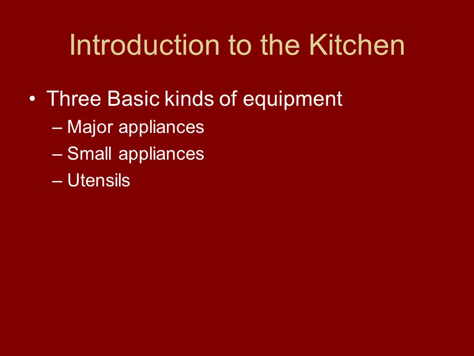 Chapter  Review Kitchen Utensils Answers