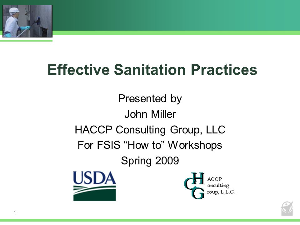 Effective Sanitation Practices