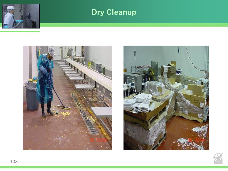 Dry Cleanup 108