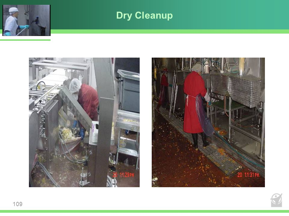 Dry Cleanup 109