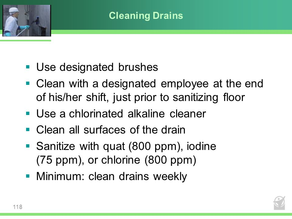 Use designated brushes